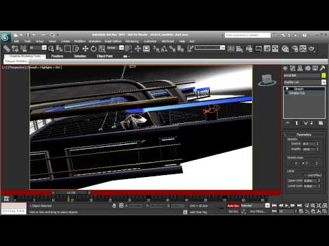 3ds Max Tutorial: Adding Squash and Stretch with the Stretch Modifier