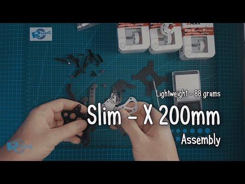 Slim - X 200mm DIY 3K Carbon Fiber Frame Kit - UCv2D074JIyQEXdjK17SmREQ
