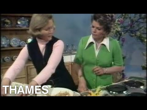 Mary Berry | How to bake a Simnel Cake | Good Afternoon |1973