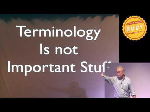 Rocky Mountain Ruby 2012 - Eloquent Explanations by Russ Olsen