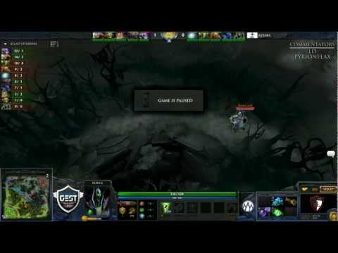 Orange vs Rising Stars [AWESOME GAME] (GEST Dota 2 - Round of 8)