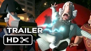 Mr. Peabody & Sherman Official Trailer (2014) - Animated Movie HD