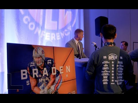 Highlights and sounds from Gus Malzahn, Daniel Carlson, Tray Matthews and Braden Smith at the 2017 SEC Media Days.