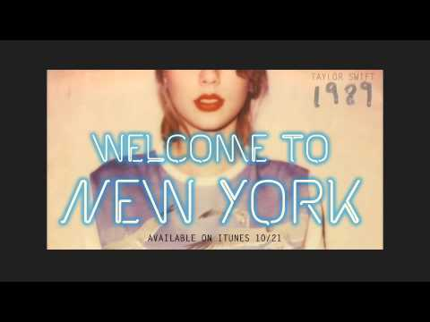 Preview Welcome To New York by Taylor Swift