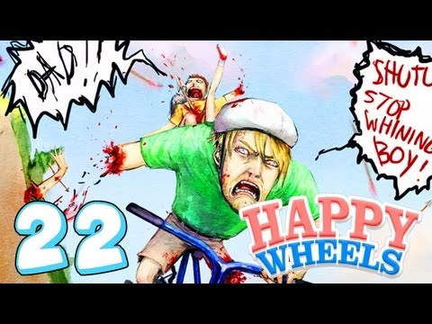 RIDING BIKES WITH NO LEGS - Happy Wheels - Part 22
