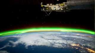 Time Lapse View from the ISS at Night