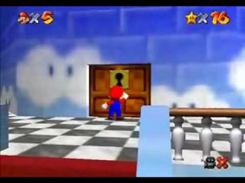 TAS Super Mario 64 N64 in 15:35 by Rikku