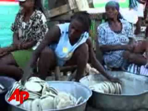 Haiti's Poor Forced to Eat Dirt As Food. Food Price Hyperinflation!