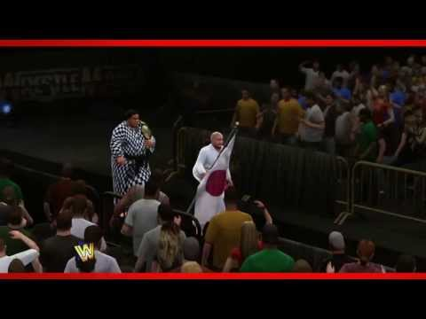 Yokozuna WWE 2K14 Entrance and Finisher (Official)