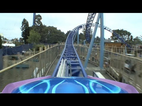 Manta POV SeaWorld San Diego Mack Launched Roller Coaster 2012 1080p HD On-Ride