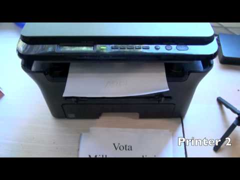 Printer sound effect