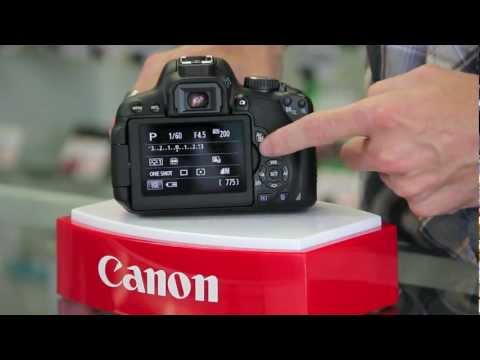 Canon EOS Rebel T4i/650D Hands On and Touch Screen Demo