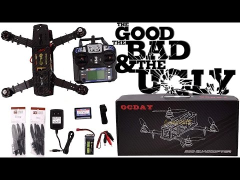 Unboxing and first impressions on a Chinese Q250 / ZMR250 RTF Assembled clone quad from eBay OCDAY - UCdXJp5Ui9qAq7nGa2sZ62jg