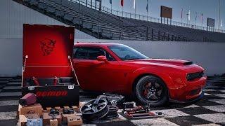 Dodge снабдил купе Demon набором инструментов