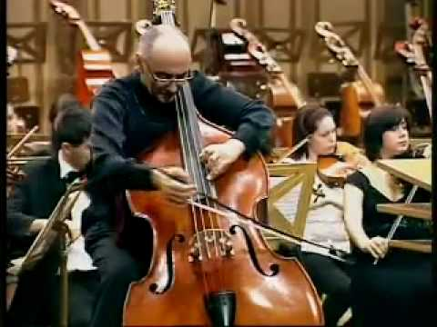 Catalin Rotaru, double bass, Haydn cello concerto part2