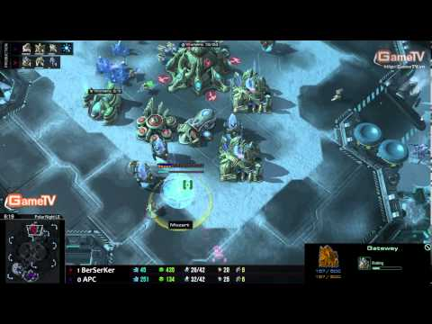 SC2 | APC: APC vs Ber set 2 04.01.2014