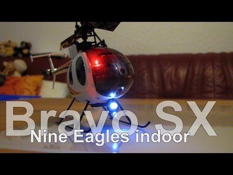 Nine Eagles // Bravo SX // Hughes 500 Fuselage // 2,4 Ghz // indoor - UCNWVhopT5VjgRdDspxW2IYQ