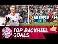 Top 🔟 Backheel Goals w/ Lewandowski, Schweinsteiger & More! 💥
