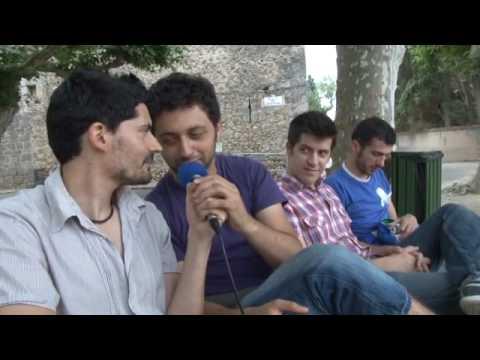 Els Amics de les Arts, concert i entrevista al Sons del Món de Vilabertran