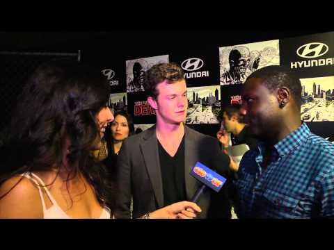 The Hunger Games Dayo Okeniyi & Jack Quaid Talk Comic Con 2012