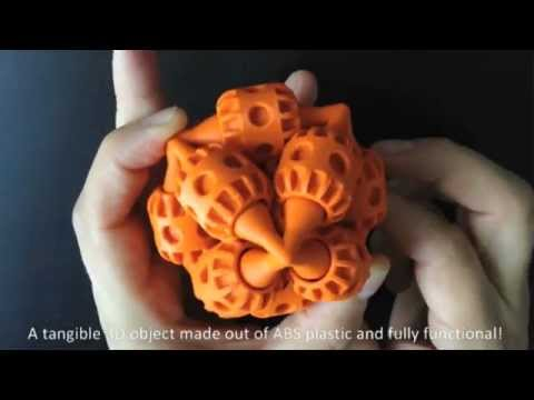 3D Printing Part with Moving Parts - Stratsys UprintSE