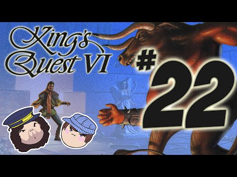 King's Quest VI: Glorious Holes - PART 22 - Steam Train