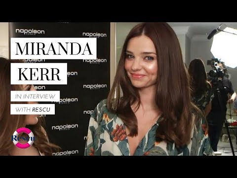 Miranda Kerr speaks Backstage at The David Jones Spring Summer 2012-13 Collection Launch