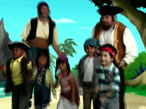 Never Land Pirate Band - Music Video - Jake and the Never Land Pirates - Disney Junior Official -8C9rFDbqecg