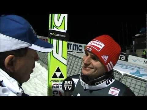 Richard Freitag im Interview - Trondheim 08.03.2012