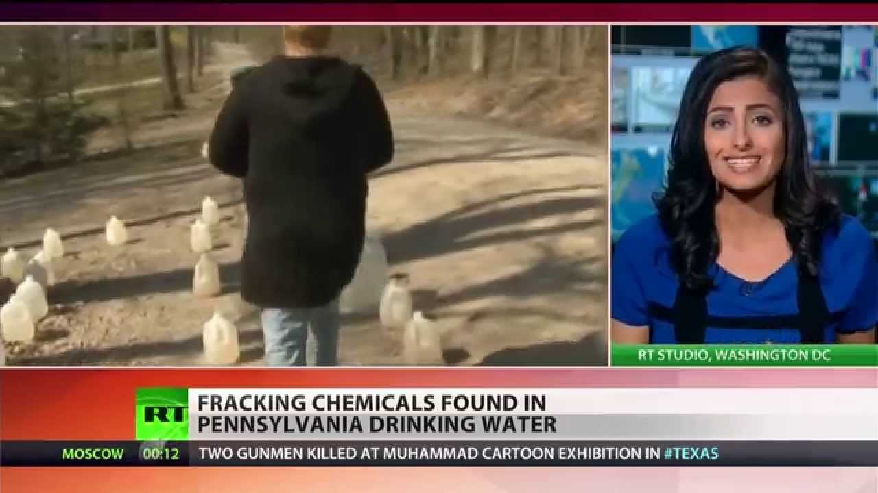 Drilling chemicals found in Pennsylvania drinking water      (Fracking)