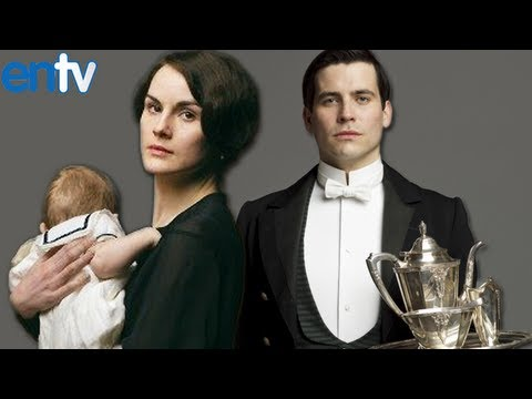 Michelle Dockery and Rob James Collier - Downton Abbey Season 4 Preview