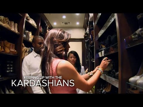 Kardashians: Kanye Raids Kim's Closet