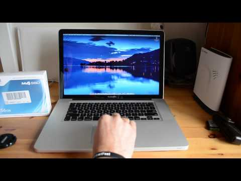 Crucial M4 SSD Review Macbook Pro 2011 Lion