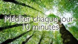 Meditation guidée - 10 minutes chaque jours - En français