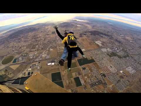 Bullet Train [GoPro 3+] Skydiving