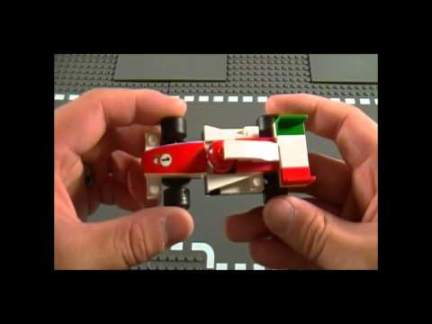 Lego 8423 Review World Grand Prix Racing Rivalry Cars 2