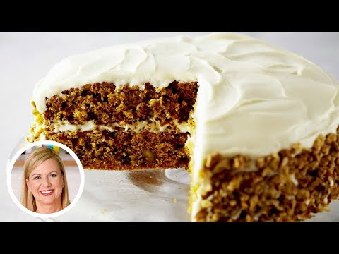 The Best Carrot Cake with Cream Cheese Frosting Recipe | Oh Yum with Anna Olson
