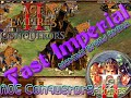 AOE Conquerors -  Fast Imperial - killzone Clan - Normal speed Arena