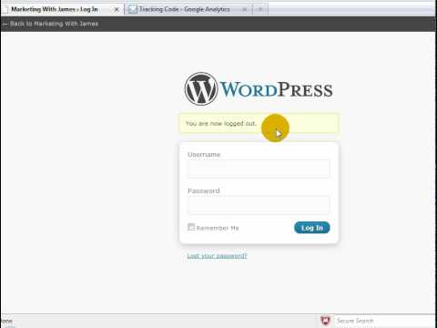 How To Install Google Analytics Into Wordpress