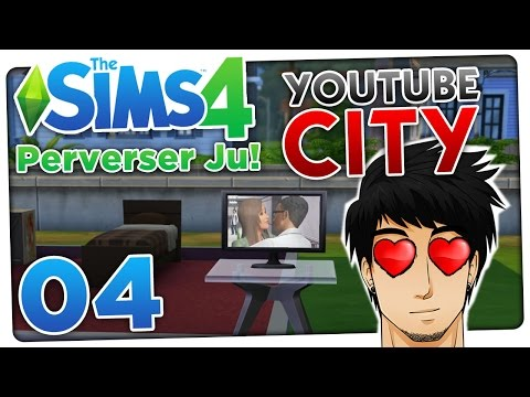 Ju ist pervers?! YouTube City - Sims 4 #04 | ungespielt