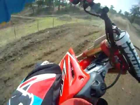 Honda Cr 125 r 2006 On board GoPro Chest Mount Mx test