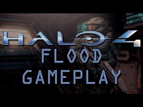 Halo 4 Flood Multiplayer Gameplay