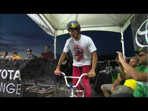 Dew Tour - Brett Banasiewicz Winning Run 1 of 2 - BMX Dirt Finals Salt Lake City