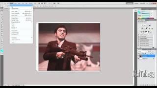 How to make a graffiti stencil in Photoshop CS5