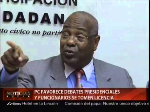 PC favorece debates presidenciales y funcionarios…