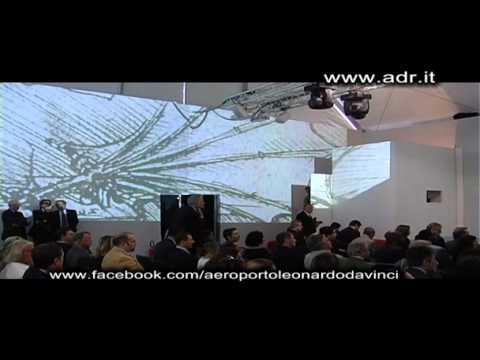 """Inaugurazione della mostra """"Il Genio di Leonardo"""" - Aeroporto Leonardo da Vinci"""