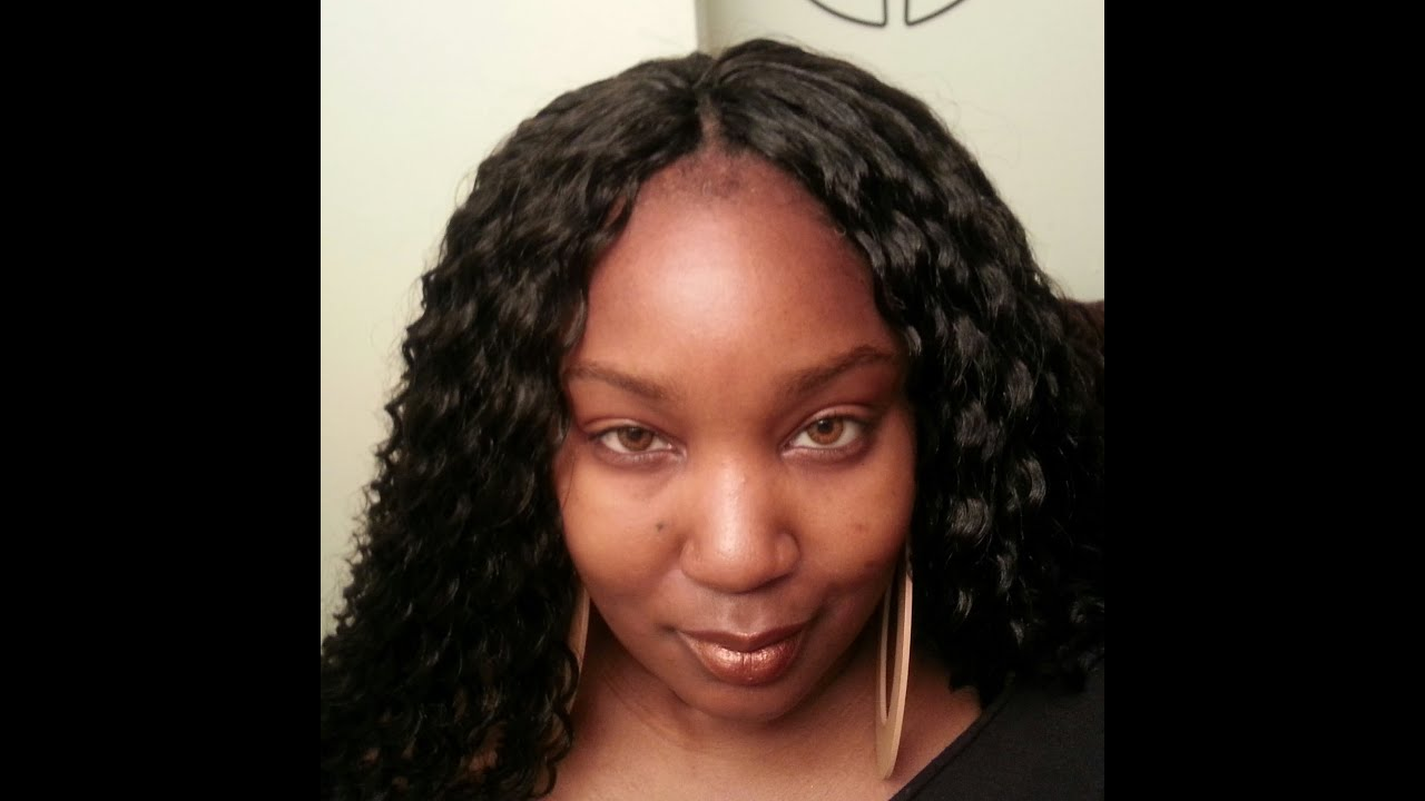 Crochet Braids Part : Wavy Invisible Braids Crochet Braid Invisible Part