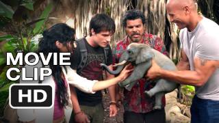 Journey 2: The Mysterious Island CLIP - Tiny Elephant - Dwayne Johnson Movie (2012) HD