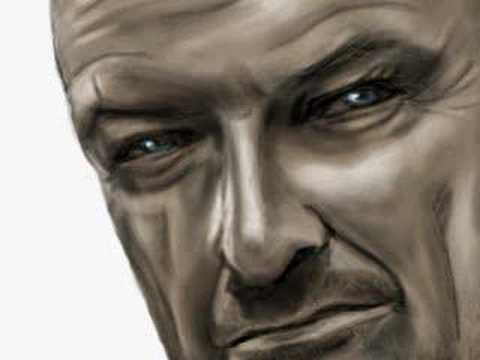 LOST - John Locke - Speed Painting by Nico Di Mattia