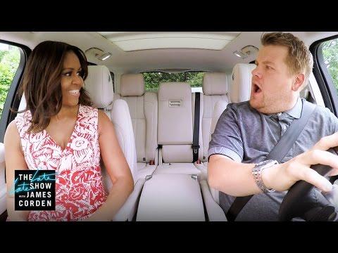 Carpool Karaoke-д Мишель Обама оржээ